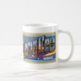 Greetings from Cape Cod Vintage Postcard Mug