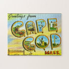 Greetings from Cape Cod Vintage Puzzle