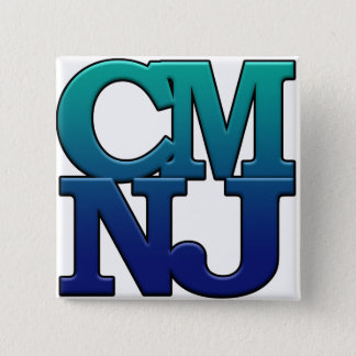 Greetings from Cape May, New Jersey 2 Inch Square Button