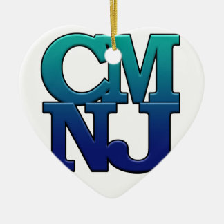 Greetings from Cape May, New Jersey Ceramic Ornament