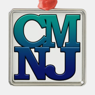 Greetings from Cape May, New Jersey Metal Ornament