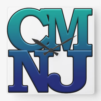 Greetings from Cape May, New Jersey Square Wall Clock