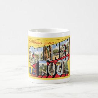 Greetings From Chimney Rock North Carolina Coffee Mug