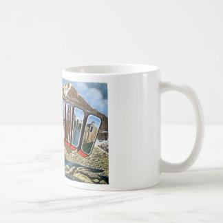 Greetings From Colorado Coffee Mug