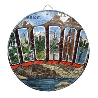 Greetings From Colorado Dartboard