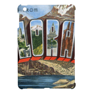Greetings From Colorado iPad Mini Cases