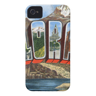 Greetings From Colorado iPhone 4 Covers