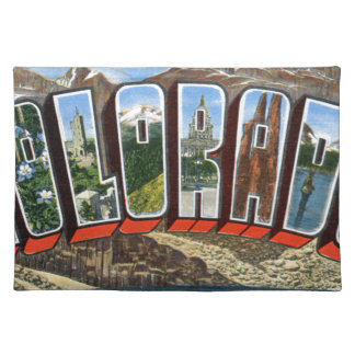 Greetings From Colorado Placemat