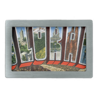 Greetings From Colorado Rectangular Belt Buckle