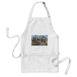 Greetings From Colorado Standard Apron