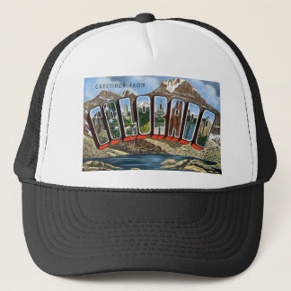 Greetings From Colorado Trucker Hat