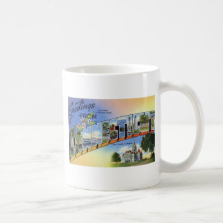 Greetings From Connecticut Coffee Mug