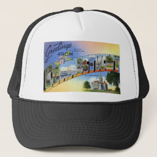 Greetings From Connecticut Trucker Hat