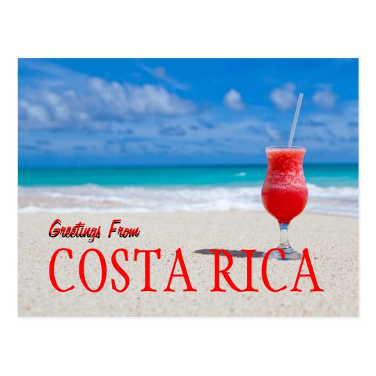 Greetings from costa rica postcard zazzle greetings from costa rica postcard m4hsunfo