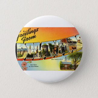 Greetings From Delaware 2 Inch Round Button
