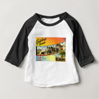 Greetings From Delaware Baby T-Shirt