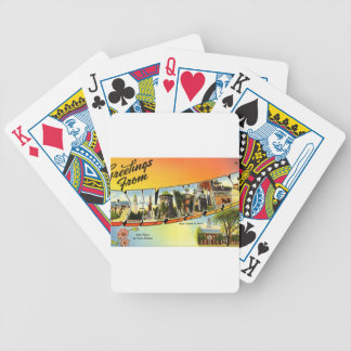 Greetings From Delaware Bicycle Playing Cards