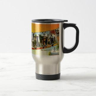 Greetings From Delaware Travel Mug