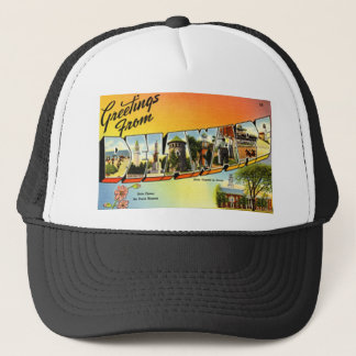 Greetings From Delaware Trucker Hat