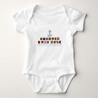 Greetings from Detroit Baby Bodysuit