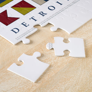 Greetings from Detroit Jigsaw Puzzle