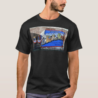 Greetings from Dickson County Tennessee ~ Mural T-Shirt