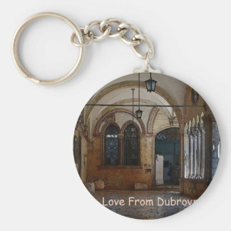 Greetings From Dubrovnik! Basic Round Button Keychain