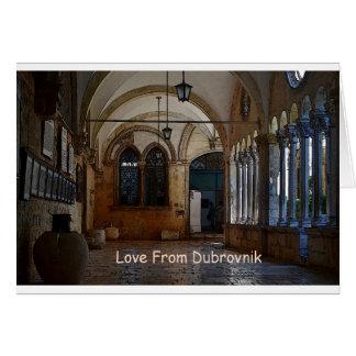 Greetings From Dubrovnik! Card