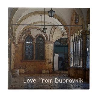 Greetings From Dubrovnik! Ceramic Tile