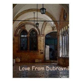 Greetings From Dubrovnik! Postcard