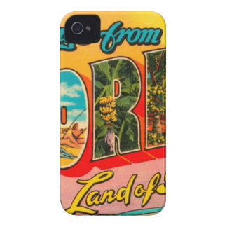 Greetings From Florida Case-Mate iPhone 4 Cases