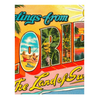 Greetings From Florida Letterhead