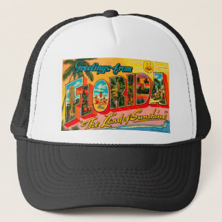Greetings From Florida Trucker Hat