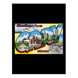 Greetings from Gary Indiana Postcard