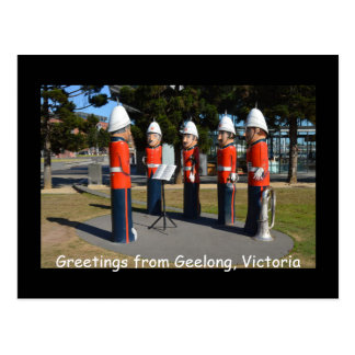 Greetings from Geelong, Victoria Postcard