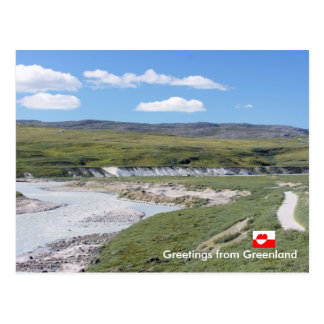 Greetings from Greenland  224 Postcard