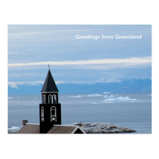 Greetings from Greenland 8 Postcard