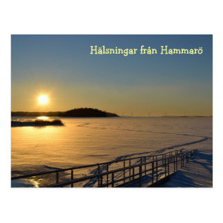 Greetings from Hammarö Postcard
