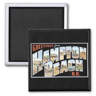 Greetings from Hampton Beach, New Hampshire! Magnet