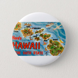 Greetings From Hawaii 2 Inch Round Button