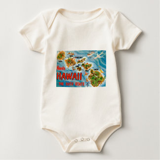Greetings From Hawaii Baby Bodysuit