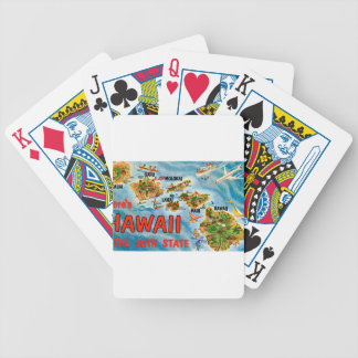 Greetings From Hawaii Bicycle Playing Cards