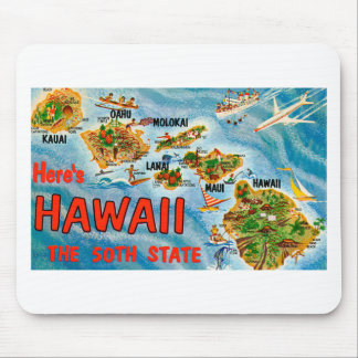 Greetings From Hawaii Mouse Pad
