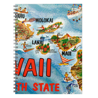 Greetings From Hawaii Notebook