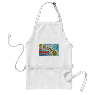 Greetings From Hawaii Standard Apron