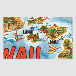 Greetings From Hawaii Sticker