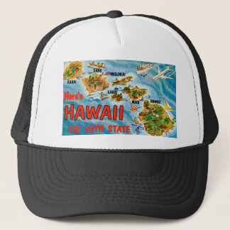 Greetings From Hawaii Trucker Hat