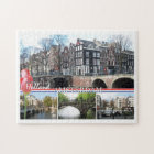 Greetings from Holland - Amsterdam Jigsaw Puzzle