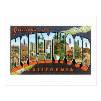 Greetings from Hollywood! Postcard