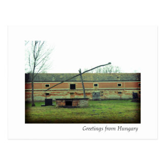 Greetings from Hungary Postcard